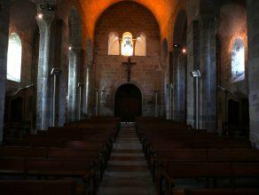 Nef principale. Eglise de Champdieu