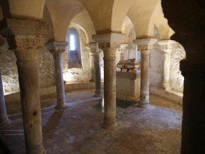Crypte. Eglise de Champdieu