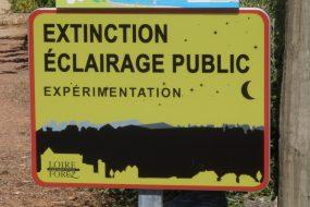 Extinction de l'éclairage public