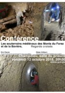 Conférence : Les souterrains médiévaux des Monts du Forez et de la Bavière, regards croisés