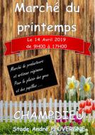 Marché du Printemps - Dimanche 14 avril 2019