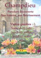Parcours découverte : Champdieu, son histoire et son fleurissement